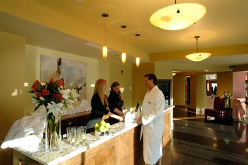 Elevation Spa Front Desk