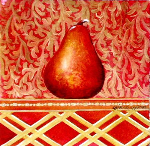 RED PEAR / Mixed Media