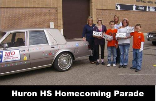 Huron Homecoming Parade 2010