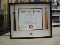 diploma tassels and ring