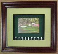 Augusta with golf tees