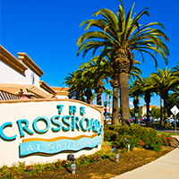 Crossroads in Santa Maria
