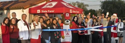 Donna Randolph State Farm Ribbon Cutting 2011 at new location