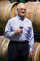 Royce Lewellen in the winery
