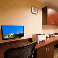 The Holiday Inn Dulles offers a business center for your convenience.