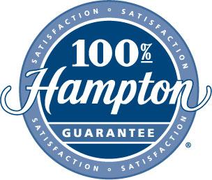 Hampton's Unconditional 100% Satisfaction Guarantee