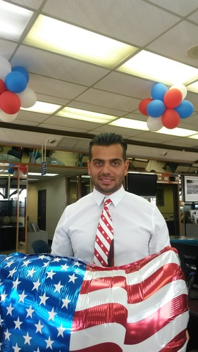Makan, a new sales person, has been granted citizenship!
