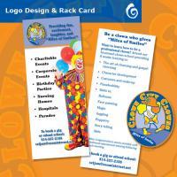 Clown City Clowns Rack Card