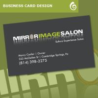 Mirror Image Salon Business Card