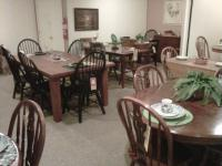 A small portion of dining sets available.  If we don't have it in stock, we have catalogs to order from.