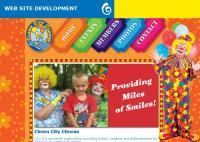 Clown City Clowns Website