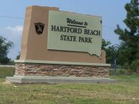 State Park signage