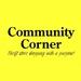 Community Corner