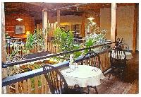 A view of our upstairs dining