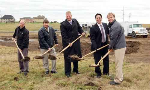 Heartland Funeral Home Ground Breaking