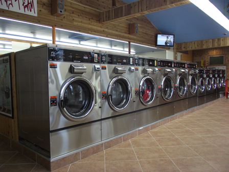 Our state of the art washing machines