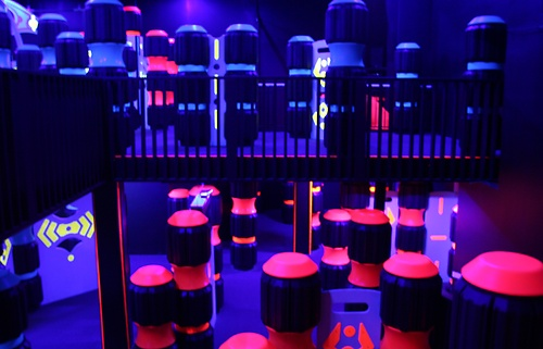 2-Level Laser Tag Arena - 6,000 square feet