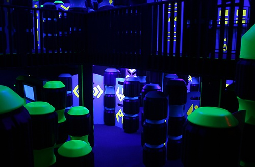 2 - Lever Laser Tag Arena - 6,000 square feet