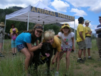Everyone has fun at our Hikin' Buddies program out Adams Gulch