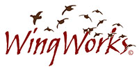 WingWorks logo and design