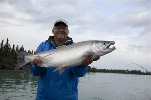 Rw 39 s fishing big eddy resort lodges resorts fishing for Fish and eddy