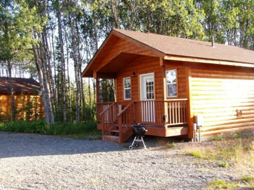 Beautiful wooded setting for your private log style cabin at Aspen Hollow