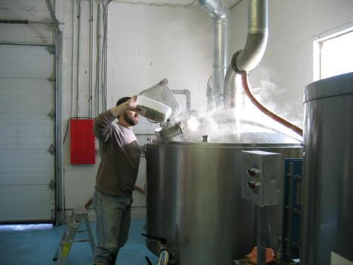 Adding hops to a batch