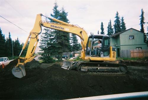 House Excavation in Soldotna