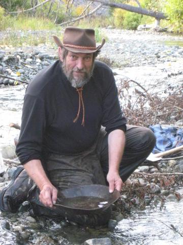 Prospector John, AKA John Belcik, prospecting
