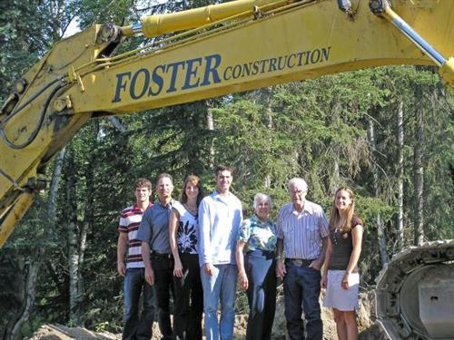 Three generations of Foster Construction
