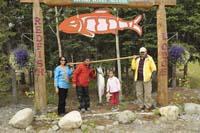 Group fishing photo