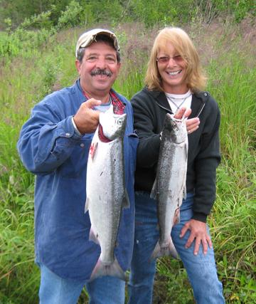 Kenai River , private fishing