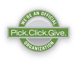 We are an Official Pick.Click.Give site