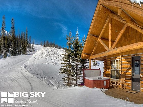 Big sky vacation rentals professionally managed vacation for Big sky cabin rentals