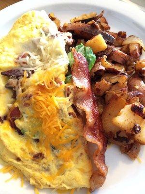 Mushroom Omelets