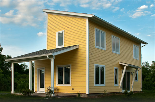 Habitat for Humanity housing in Amherst