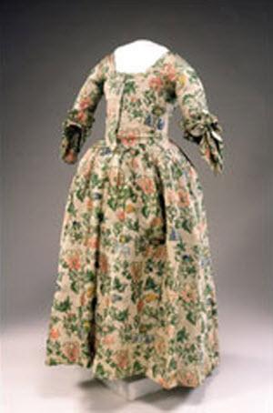 Elizabeth Pitkin Porter's wedding dress