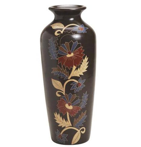 Burnished Ceramic Vase - Oyanca Artesania, Nicaragua