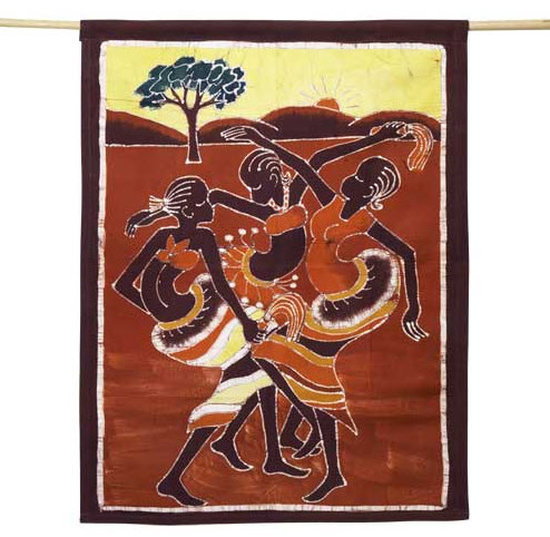 Savanna Dance Wall Hanging - MCC Burkina Faso, Burkina Faso
