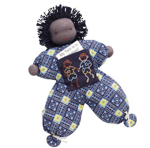 Twin Boy Doll - Batsiranai Craft Project, Zimbabwe