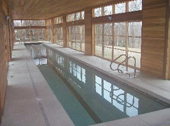 Orchard valley heating and cooling air purification for Pool ventilation design