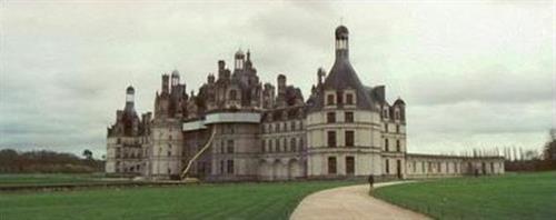 Chambord Castle outside of Paris