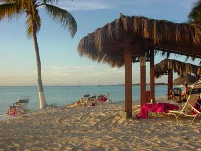 Huts on Palm Beach, Aruba