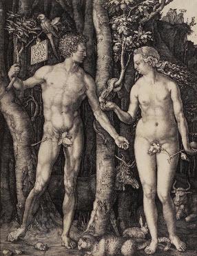 Adam and Eve, Albrecht Durer