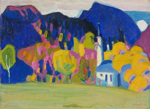 Autumn Impression, Wassily Kandinsky