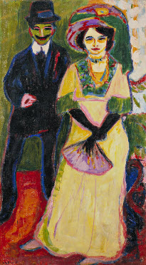 Dodo and Her Brother, Ernst Ludwig Kirchner