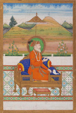Mughal Emperor Shah Jahan (reigned 1627-1658), Unknown artist, Indian