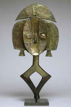 Reliquary Figure (ingulu), Unknown artist, African, Kota peoples