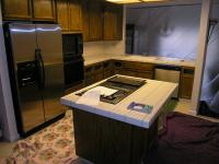 Kitchen in Fair Oaks before new granite..!