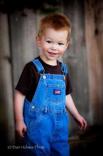 Children's portraits - Ethan